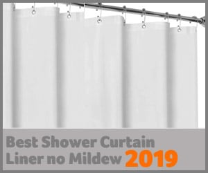 best shower curtain liner no mildew