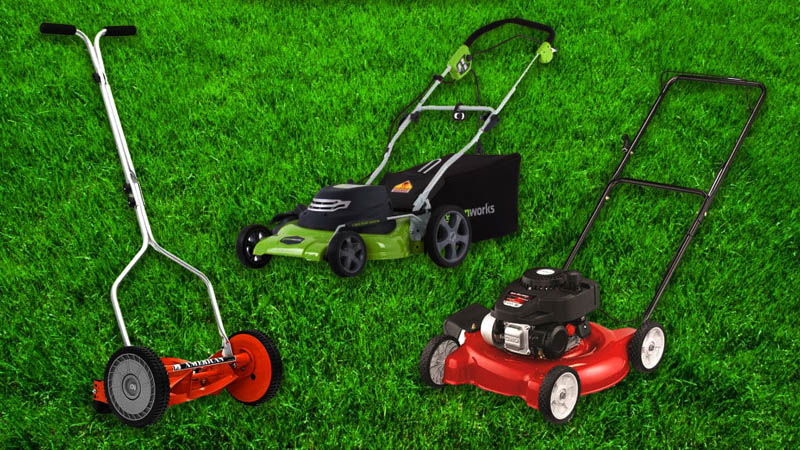best push lawn mower to buy